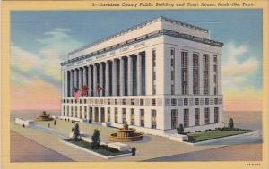 Tennesse Nashville Davidson County Public Building And Court House
