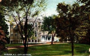 New York Auburn City Hospital 1910