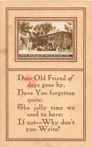 G5/ Prairie Du Chien Wisconsin RPPC Postcard c1910 Railroad Sanitarium 20