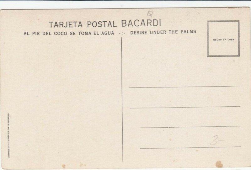 BACARDI Rum, Cuba , 1910s