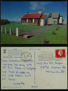 St. Martin's Church, Heritage Park-Calgary Alberta 1965