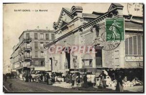 Old Postcard Saint Denis Le Marche