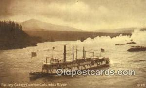 Road Of A Thousand Wonders, Oregon, OR USA Steam Ship Postcard Post Cards  Ro...