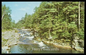 Lower Falls of the Ammonoosuc - Bretton Woods and Twin Mountain