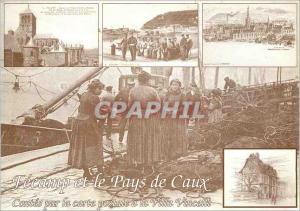 Modern Postcard Fecamp and Caux Tales by postcard villa Vincelli