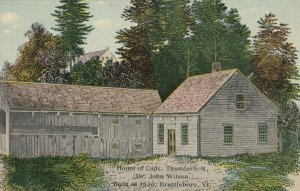 BRATTLEBORO , Vermont , 1900-10s ; Home of Capt. Thuderbolt, Dr. John Wilson