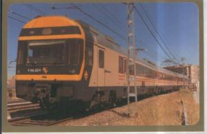 Postal 010874: Electrotren 444-507-08 en Zaragoza, julio 1989