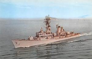 USS Lynde McCormick, Guided Missile Destroyer Military Battleship Unused