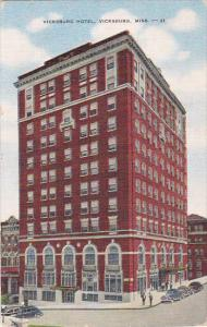 Hotel , VICKSBURG , JACKSON , Mississippi , 30-40s