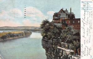 Tennessee River View, Chattanooga, Tennessee, Early Postcard, Used in 1906