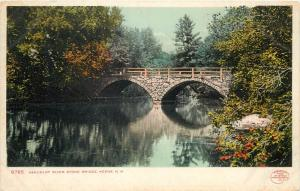 Ashuelot River Stone Bridge Keene United States