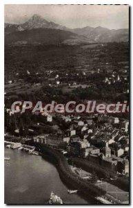 Old Postcard Evian Les Bains View Aerienne Lake Leman