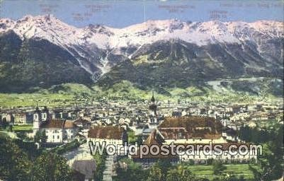 Brandjoch, Sattelspitzen Berg Isel Austria Postal Used Unknown