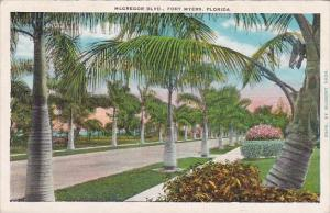Florida Fort Myers Mcgregor Boulevard