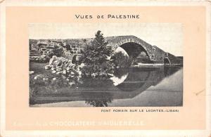 B57986 Liban Lebanon palestina palestine Pont romain sur le leontes