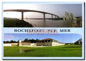 Modern Postcard Rochefort sur Mer Charente Viaduct spanning the Royal rope fa...