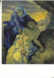 Pieta (After Delacroix) by Vincent Van Gogh