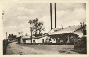 france, SAINT-GOBERT, Aisne, La Laiterie, Dairy (1930s)