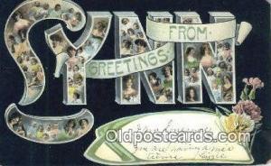 Lynn, Mass USA Large Letter Town Vintage Postcard Old Post Card Antique Posta...