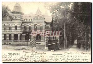 Belgie Belgium Old Postcard Morlanweiz Villa BEAUMEZ