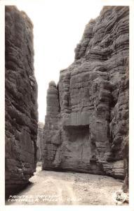 Coachella Valley California Painted Canyon Frasher Real Photo Postcard K91184