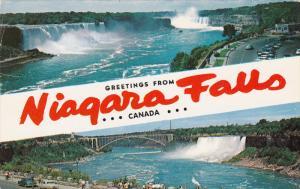 Niagara Falls from Rainbow Bridge, Niagara Falls And Rainbow Bridge, NIAGARA ...