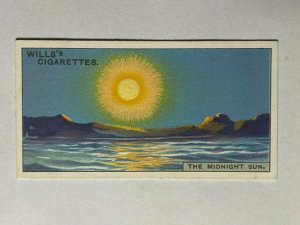 CIGARETTE CARD - WILLS DO YOU KNOW [2nd SERIES] #30 MIDNIGHT SUN  (UU297)
