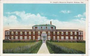 Indiana Kokomo St Joseph's Memorial Hospital 1940 Curteich