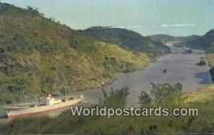 Panama Panama Canal Gaillard Cut