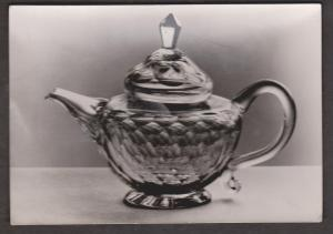 Cut Glass English Teapot Victor & Albert Museum - Unused - Real Photo