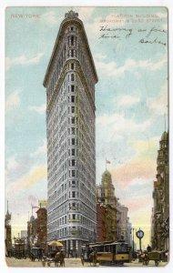 New York, Flatiron Building, Broadway & 23rd Street