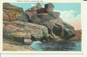 Devil's Pulpit, Ogunquit, Me.