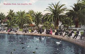California Los Angeles Westlake Park