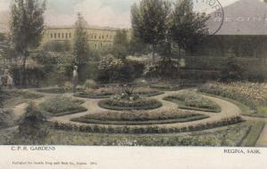 REGINA , Saskatchewan , Canada , PU-1908; C. P. R Gardens