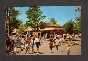 NH Canobie Lake Amusement Park Arcade SALEM NEW HAMPSHIRE Postcard PC