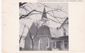 NEW COLUMBIA , Pennsylvania , 1970; Evangelical United Brethren Church