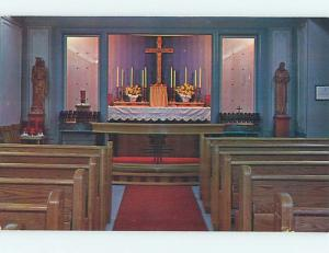 Unused Pre-1980 CHURCH SCENE Youngstown Ohio OH hs6451