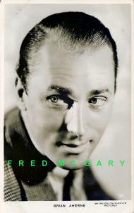 1937 MGM Pictures RPPC: Brian Aherne