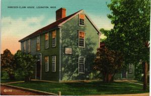 LEXINGTON MASSACHUSETTS HANCOCK CLARK HOUSE