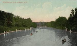 ALBANY , New York , 1900-10s ; Washington Park