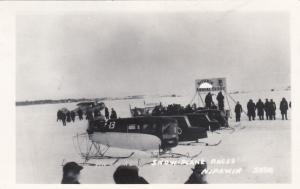 RP: NIPAWIN , Sask. , Canada , 1910-20s ; Snow-Plane Races