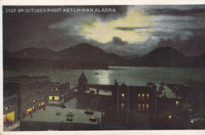 An October Night, KETCHIKAN, Alaska, 1910-1920s
