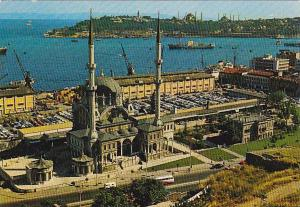 Turkey Istanbul The Mosque Of Nusretiye Harbor & Point Of Seraglio
