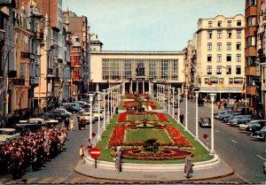 Belgium Oostende Leopold Avenue and Kursaal