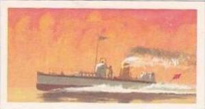 Brooke Bond Vintage Trade Card Saga Of Ships 1970 No 35 Turbinia