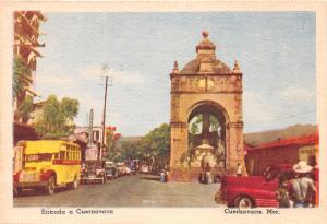 MONTERREY MEXICO AVENUE FRANCISCO I MADERO PHOTO POSTCARD 1950s