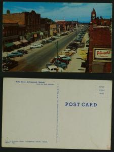 Main street Collingwood c 1950s