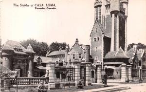 TORONTO ONTARIO CANADA~CASA LOMA~STABLES~REAL PHOTO POSTCARD 1950s
