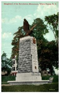 537  NY  White Plains  Daughters of the Revolution Monument