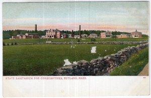 Rutland, Mass, State Sanitarium For Consumptives